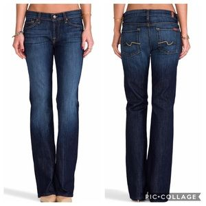 7 for all Mankind Low-rise Bootcut Jeans